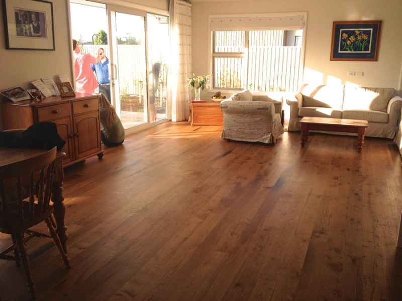 NZ Hard Oak Floor <small class='portfolio-subtitle'> Harewood Christchurch</small>