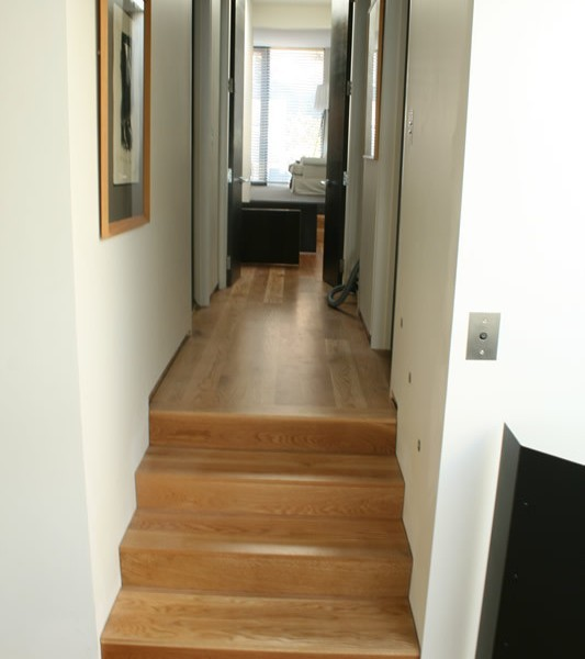 White Oak Steps & floor, Scarborough, Christchurch
