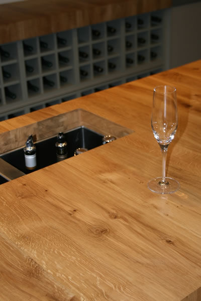 NZ Hard Oak Benchtop, Cloudy Bay Winery