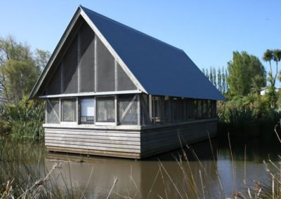 Cedar Clad Viewing House Travis Swamp || Christchurch