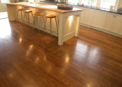 NZ Elm Kitchen Floor || Fendalton Christchurch