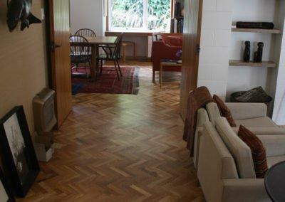 NZ Oak Parquet Floor || Ballantyne House, Christchurch