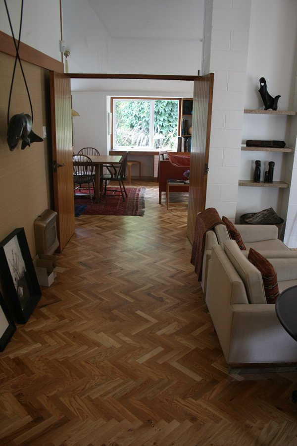 NZ Oak Parquet Floor || Ballantyne House, Christchurch