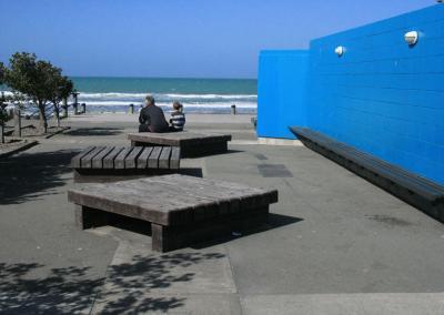 Native Beech Sleeper Seats, New Brighton, Christchurch