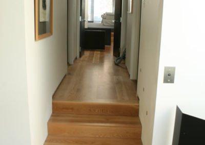 White Oak Steps & floor, Scarborough, Christchurch